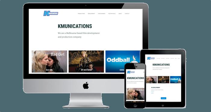 film production company website design