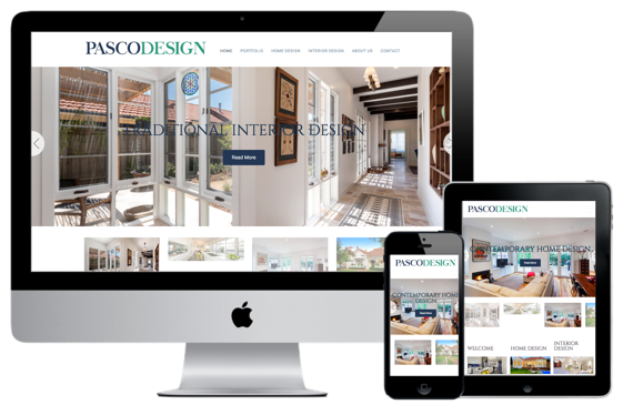 Interior Designers Web Design