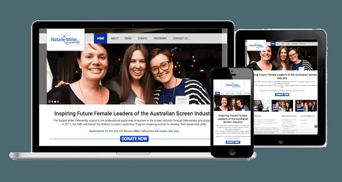 film tv fellowship web design