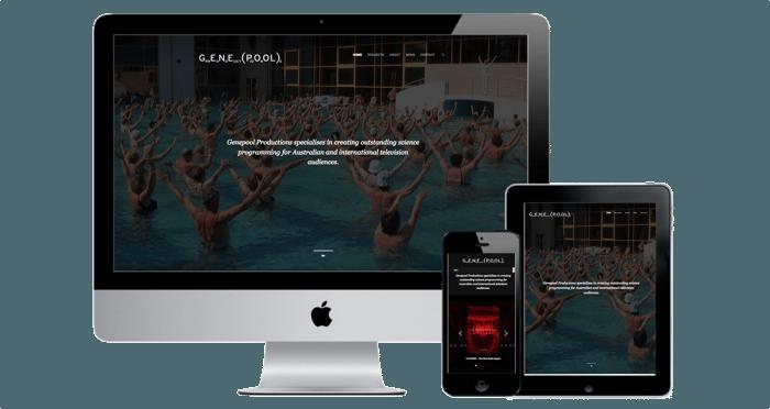 tv company website development
